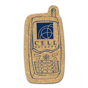 King Size Cork Cell Phone Coaster