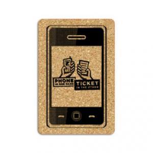 King Size Cork Smart Phone Coaster