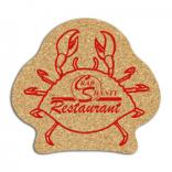 King Size Cork Crab Coaster