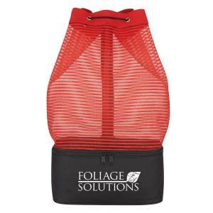 Mesh Sling Bag With Cooler