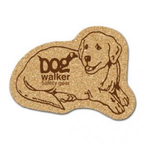 King Size Cork Dog Coaster