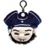 Mascot Patriot Backpack Clip with Ribbon