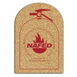 King Size Cork Fire Extinguisher Coaster