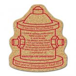 King Size Cork Fire Hydrant Coaster