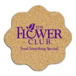 King Size Cork Flower Coaster