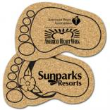 King Size Cork Foot Coaster