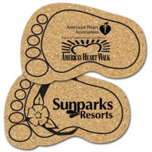 King Size Cork Foot Coaster