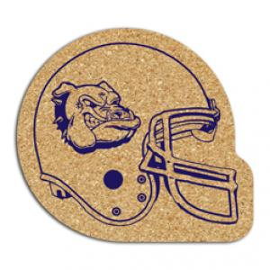 King Size Cork Football Helmet Coaster