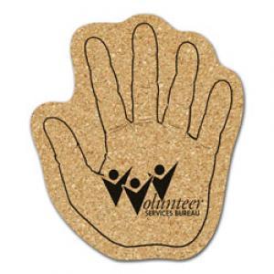King Size Cork Hand Coaster