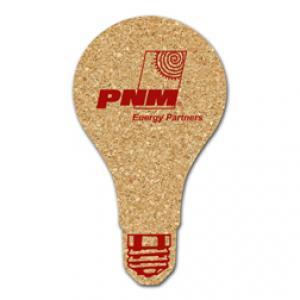 King Size Cork Lightbulb Coaster
