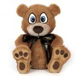 "10"" Big Paw Honey Bear with Ribbon"