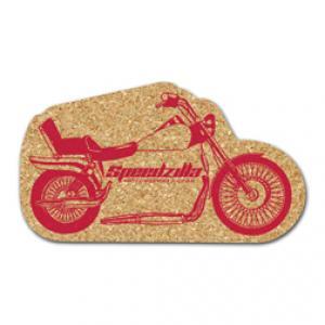 King Size Cork Motorcycle Coaster