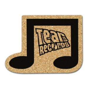 King Size Cork Music Note Coaster