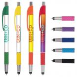 Full Color Quilted Stylus Grip Pen