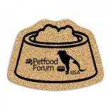King Size Cork Pet Dish Coaster
