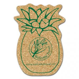 King Size Cork Pineapple Coaster