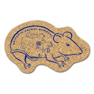 King Size Cork Rat Coaster