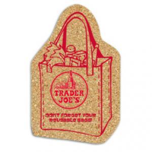 King Size Cork Tote Bag Coaster