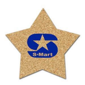 King Size Cork Star Coaster