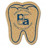 King Size Cork Tooth Coaster