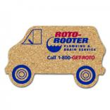 King Size Cork Van Coaster