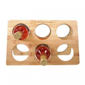 6 Holder Bamboo Wine Rack