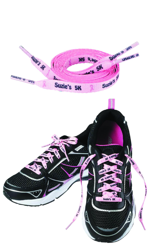 """60""""L x 1/2""""W Full Color Imprint Shoelaces"""