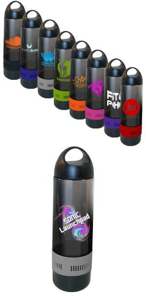 17 oz Bluetooth Speaker Sport Bottle