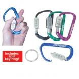 Forged Aluminum Carabiner Combo Lock