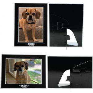 5x7 Plain Easel Cardboard Photo Frame