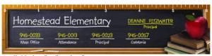 Full Color Chalkboard 2 Theme Ruler Magnet