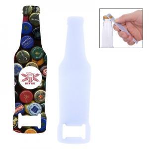 Full Color Bottle Shaped Bottle Opener