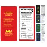 Sleek Insurance Policy Holder Kit with Copy Guard Vinyl Pocket