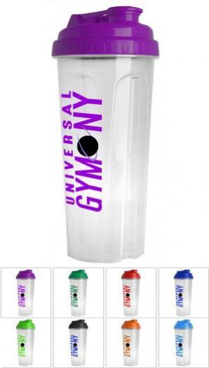 24 oz Plastic Tumbler with Drink-Thru Lid
