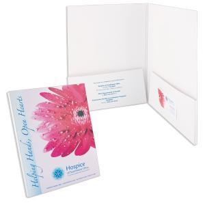 Full Color Box Pockets Folder