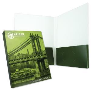 Full Color Capacity Box Pockets Folder