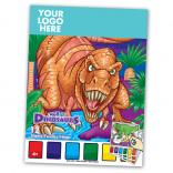 Dinosaur Themed Paint Book