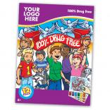 Drug Free Themed Paint Book