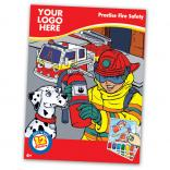 Fire Safety Themed Paint Book
