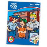 Police Themed Paint Book