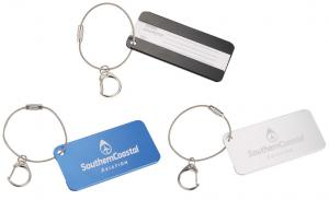 Aluminum Identification Key Tag