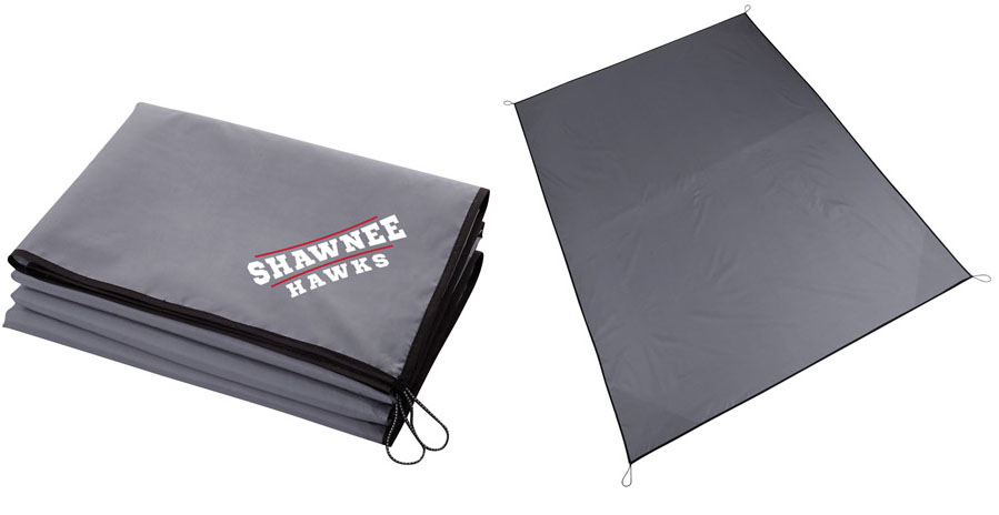 Large Lightweight Picnic Blanket with Stakes