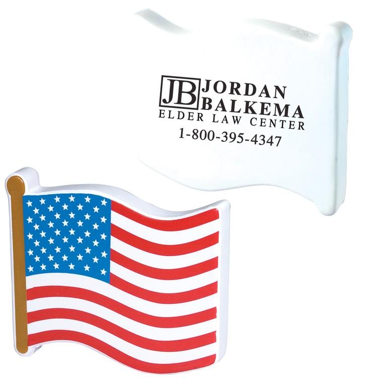 American Flag Patriotic Stress Reliever
