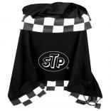 12 oz Fleece Blanket with Checkered Flag Trim