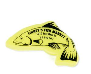 Fish Shaped Polymer Eraser