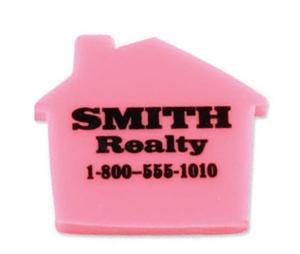 House Shaped Polymer Eraser