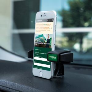 Clip-IT Dashtop Car Mount Phone Stand