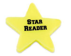 Star Shaped Polymer Eraser