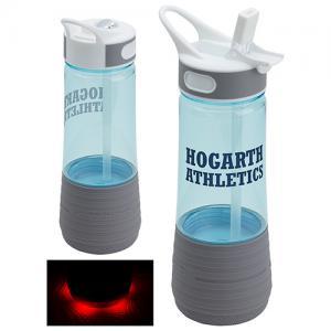Water Bottle Wireless Speaker with Safety Light