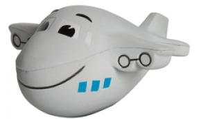 Mini Airplane with Smile Shaped Stress Reliever